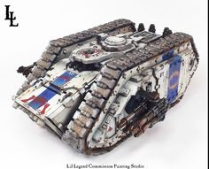 World Eater Land Raider Spartan Commission ~ LilLegend Commission Painting Studio