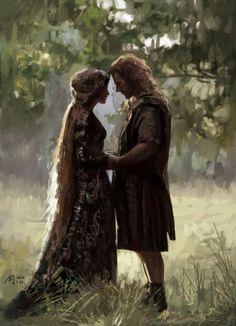 romance scene from Braveheart. Story Inspiration, Writing Inspiration, Character Inspiration, Fantasy Kunst, Fantasy Art, Elfa, Braveheart, Fantasy World, Fairy Tales