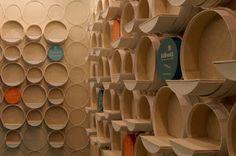 ARQUITETANDO IDEIAS: Loja de artesanato projetada para a escala humana