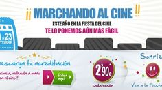 La Fiesta del Cine llena las salas de cine españolas
