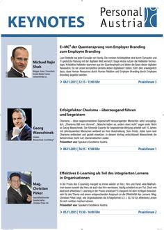 #KeyNote #Speaker #PAustria http://de.slideshare.net/michaelrajivshah/emc2-vom-employee-zum-employerbranding-paustria