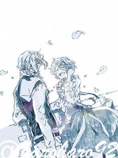 Hetalia: France and Jeanne d'Arc<<My feels T.T