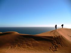 Dunes, Concón, Chile  I used to love going there as a kid!