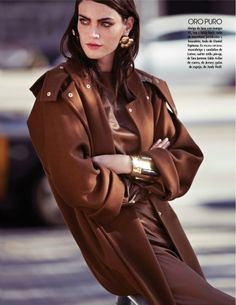Seduce | Vogue Mexico January 2014 Djamila Del Pino shows us how to glam up our winter wardrobe with these looks photographed by Elena Bofill | Styled by  Patrycja Juraszczyk