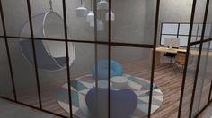 Thinking Room - Projeto interiores corporativos Maria Carolina Valim, Matheus Nicacio e Camila Ramundo