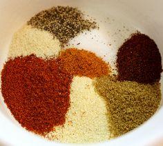 Spicy Bronzed Chicken – Rub Recipe