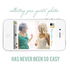 Instantly collect all your guests' photos in one online album. Wedding Snap is the #1 Photo-sharing platform with iPhone & Android apps for guests.
