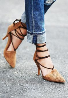 Jeffrey Campbell + Free People Berlin Heel