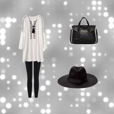untitled #2 by magicandpeanut on Polyvore featuring James Perse and Danielle Nicole