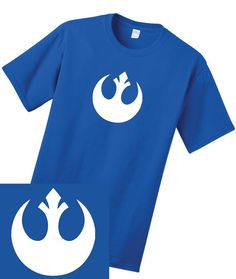 Rebel/ Resistance Logo - The force Awakens - MENS - Star Wars Tee - BIG & TALL Sizes Available