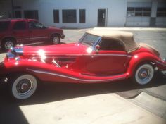 1936 Mercedes 500K, and it's for sale.  SOLD!!!