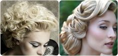 Retro Hairstyles For Weddings   think she should go the old hollywood vintage glam by doing a vintage ...