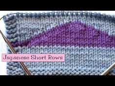 Knitting Help - Japanese Short Rows - YouTube
