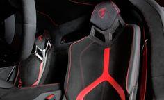 2016 Aventador LP 750-4 Superveloce Seat Interior