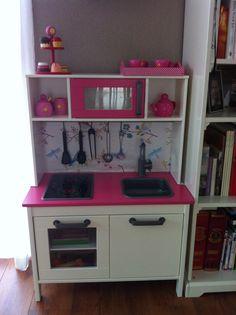 Gepimpt Ikea keukentje