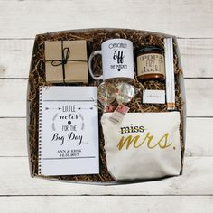 Future Mrs Gift Box Bride to Be Gift Newly by DefineDesignEtc