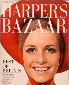 Twiggy Fashion Magazine Cover, Fashion Cover, 1960s Fashion, Fashion Models, Magazine Covers, Vintage Fashion, London Fashion, High Fashion, Winter Fashion