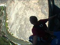 Epic Bungy Jump Tweak Out (Nevis Bungy in Queenstown, NZ)