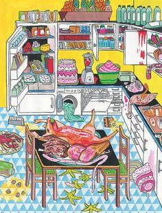 """""""Gluttony"""" by Paul Paetzel & Irkus M. Zeberio"""