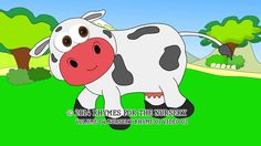 Nursery Rhymes Vol. 4, Nursery Rhyme 1, Nursery Video for Children 2, Milky Cow by Alex Kudinov-Sheffer and kids