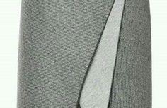 DIY - molde, corte e costura - Marlene Mukai Dion Lee, Cape Dress, Dress Patterns, Pattern Dress, Tie Clip, Sew, Image, Fashion, Envelope Skirt