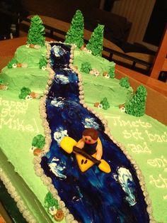 27 Best Kayak Cake Images Kayak Cake Cake Kayaking