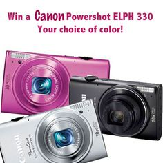 win a Canon Powershot Camera