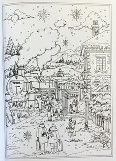 Adult Christmas Coloring Page Kid Stuff Pinterest Christmas