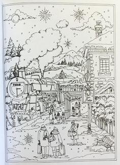 Amazon Creative Haven Winter Wonderland Coloring Book Adult 9780486805016
