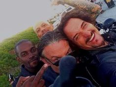 Chibs, Tiggy, Happy, and Marks