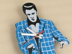Sold Out. WORKING #Vintage #Elvis Presley Collectible Clock with MOVING LEGS from SoaringHawkVintage on Etsy