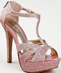 Pink High Heel Shoes