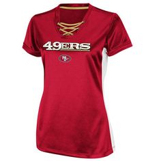 San Francisco 49ers Womens Draft Me IV Jersey Top