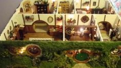 Il Signore degli Anelli: la casa di bambola di Bilbo Baggins