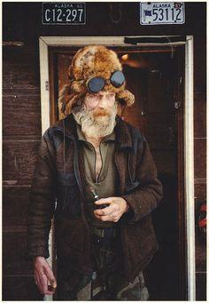 Beard, pipe, goggles: Legit.