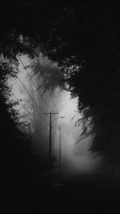 Add to this: a dragon in the mist in the background Dark Photography, Black And White Photography, Landscape Photography, Black Aesthetic Wallpaper, Aesthetic Wallpapers, L Wallpaper, Gothic Aesthetic, Black And White Aesthetic, Dark Places