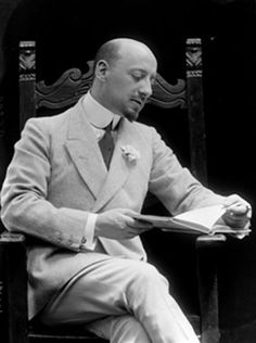 Gabriele d'Annunzio (poet and writer) by Mario Nunes Vais