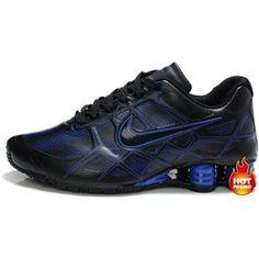 finest selection 6d3a5 54a61 www.asneakers4u.com Nike Shox -Turbo12 Men Black Blue Cheap Nike, Nike