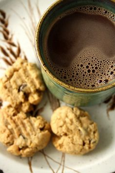 Chai-Spiced Hot Chocolate for Valentine's Day