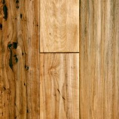 "Virginia Mill Works 3/4"" x 5"" Hickory Handscraped - contemporary - wood flooring -  - by Lumber Liquidators"