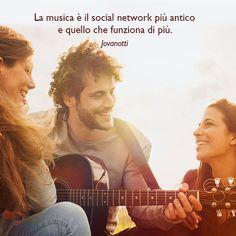 """""""La musica è il social network più antico e quello che funziona di più."""" (Jovanotti)"""