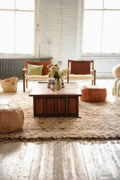 Méchant Studio Blog: wood and white loft