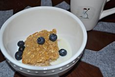 Peanut Butter Baked Oatmeal | OAMC from Once A Month Mom