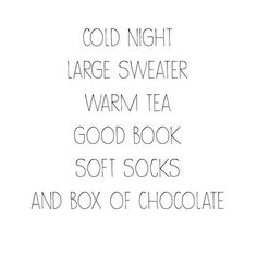 quotes about being warm and cozy