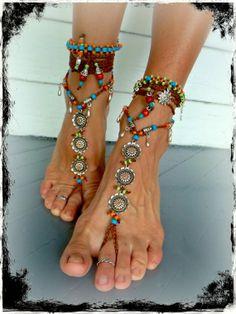 Barefoot bohemian