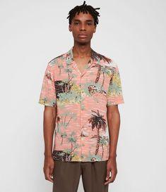 Home - Spot Pop Fashion Luau Shirts, Hawaiian Print Shirts, Gentleman's Wardrobe, Formal Shirts For Men, Pop Fashion, Warm Weather, Button Up Shirts, Men Casual, Sleeves