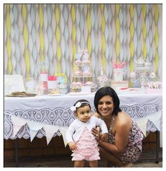 My Daughter & I At Her 1st Birthday Tea Party!