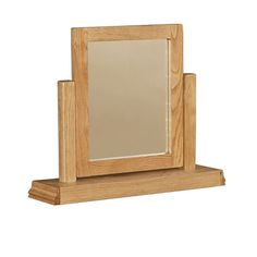 Normandy Solid Oak Dressing Table Mirror -  - Mirror - Ametis - Space & Shape