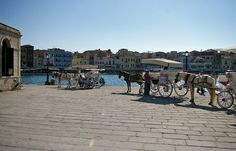 Crete, Old Town, Venetian, Street View, Old City