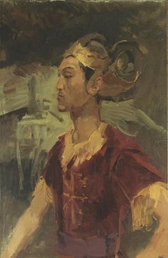 Portrait of a Javanese Prince by Isaac Israels (Dutch 1865-1934)